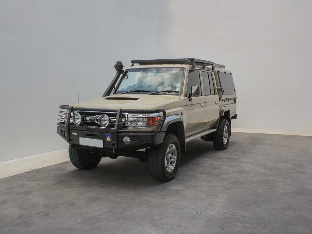 Toyota Land Cruiser Dc Pick Up Slimline Ii Roof Rack Kit