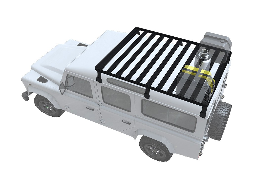 Land Rover Defender 110 Slimline II 3/4 Roof Rack Kit ...